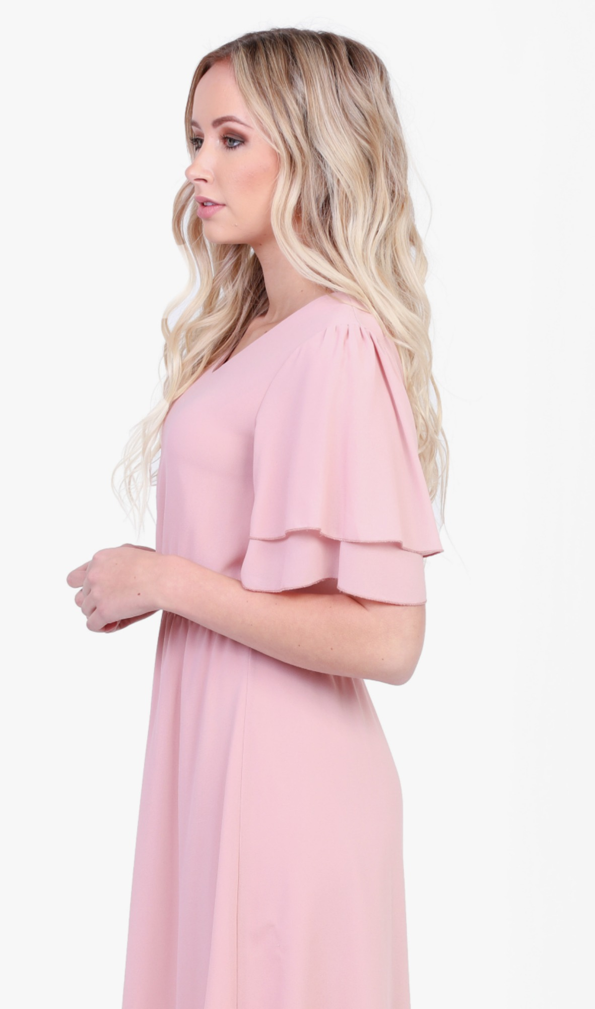 Claire Dress-Pink