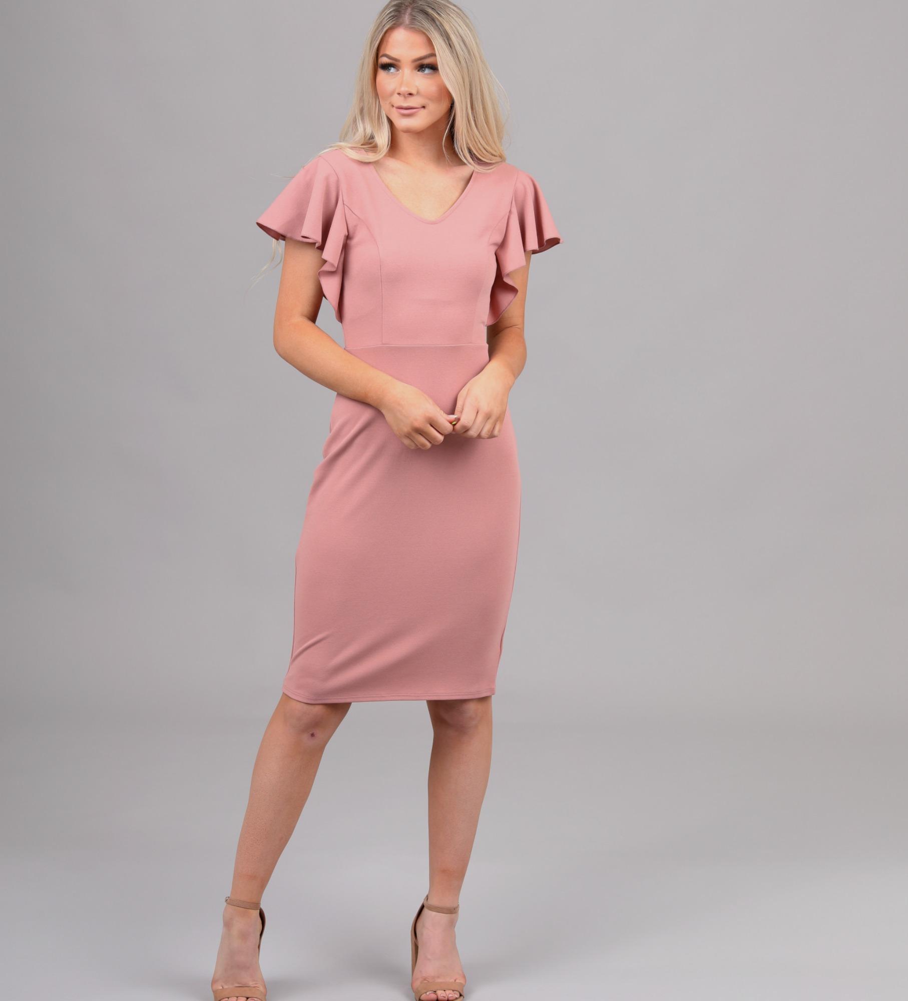 Mikarose Nixon Dress-Blush