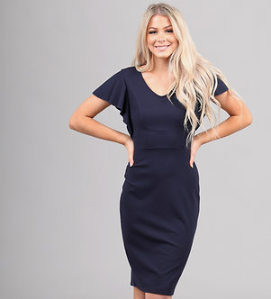Mikarose Nixon Dress-Navy