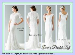 Peony Wedding Gowns