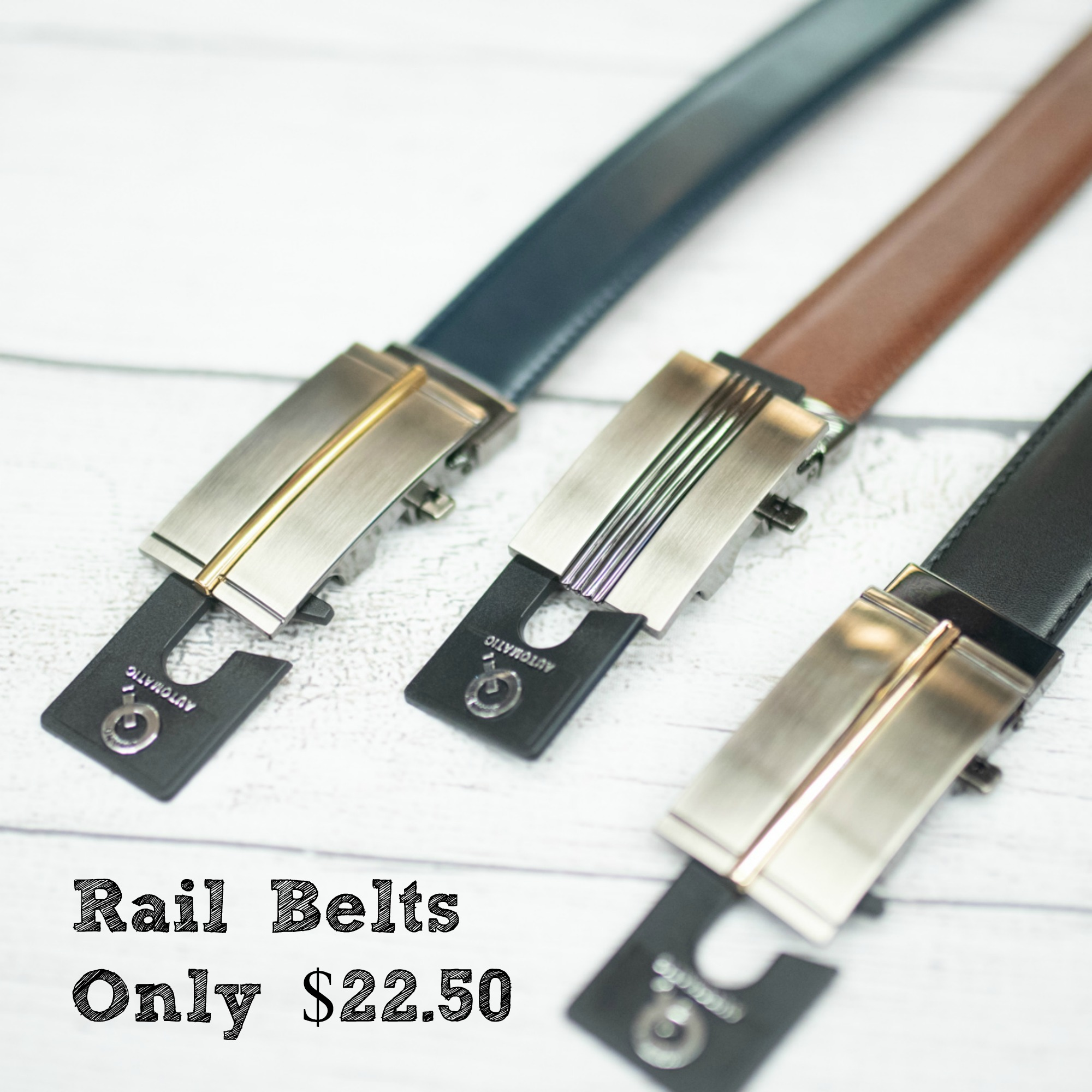 Try a Rail Belt Today!
