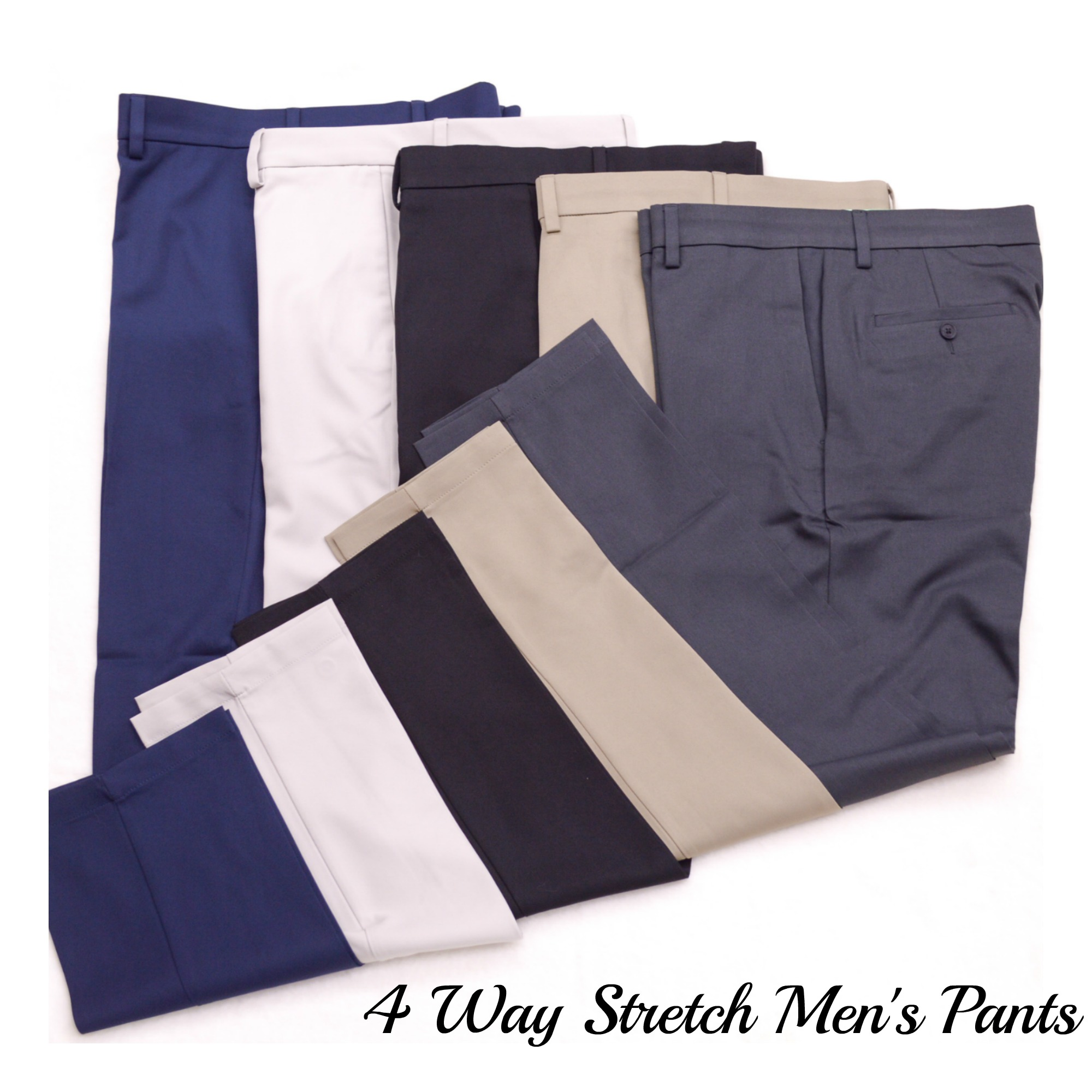 Men's Stretch Golf Pants