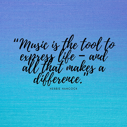 """Music_is_the_tool_to_express_life_–"