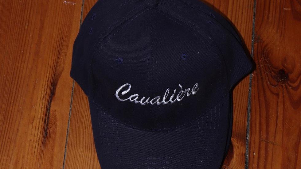 CASQUETTE CAVALIÈRE BLEU MARINE