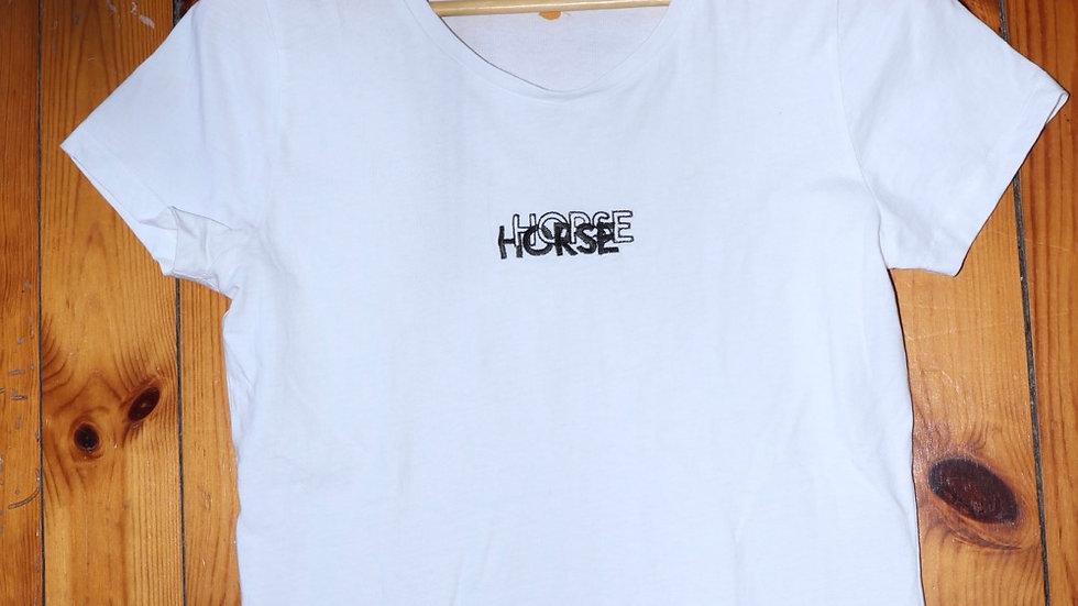 T-SHIRT HORSE - M