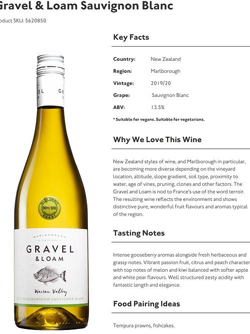 Gravel & Loam Sauvignon Blanc 75cl