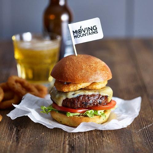 Vegan Moving mountains burger