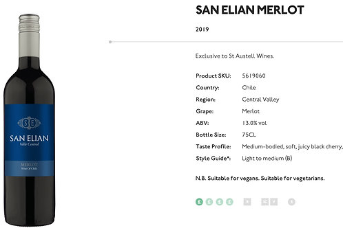 San Elian Merlot 75cl