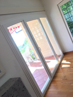 fenêtre cintrée reposée