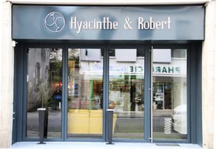 devanture restaurant Hyacinthe et Robert