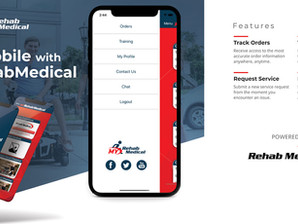 New myRehabMedical App Helps Customers Stay Mobile
