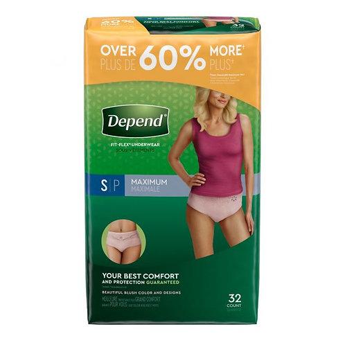 Depend Maximum Underwear for Women