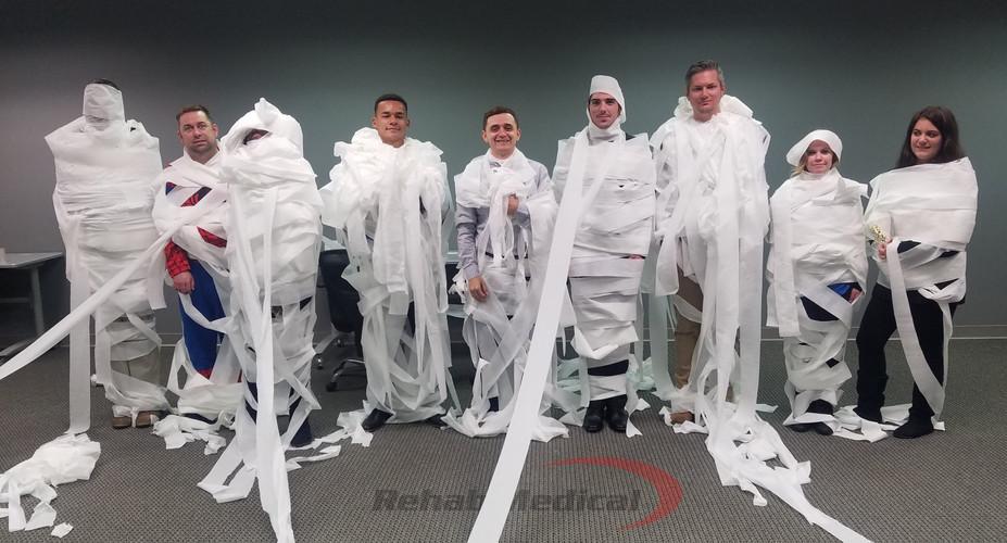 Halloween Mummy Wrap