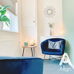 Counselling room at Align Healthcare