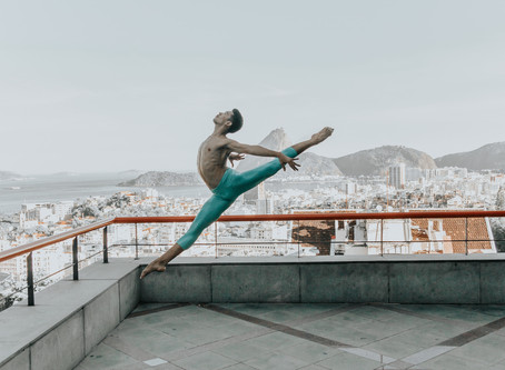 We Celebrate Men In Ballet