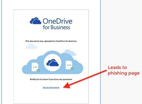 Office 365 SharePoint Phishing Alert