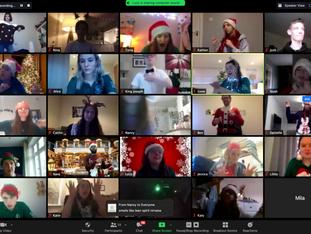 Flamingo Chicks and Christmas Party - Virtual trip