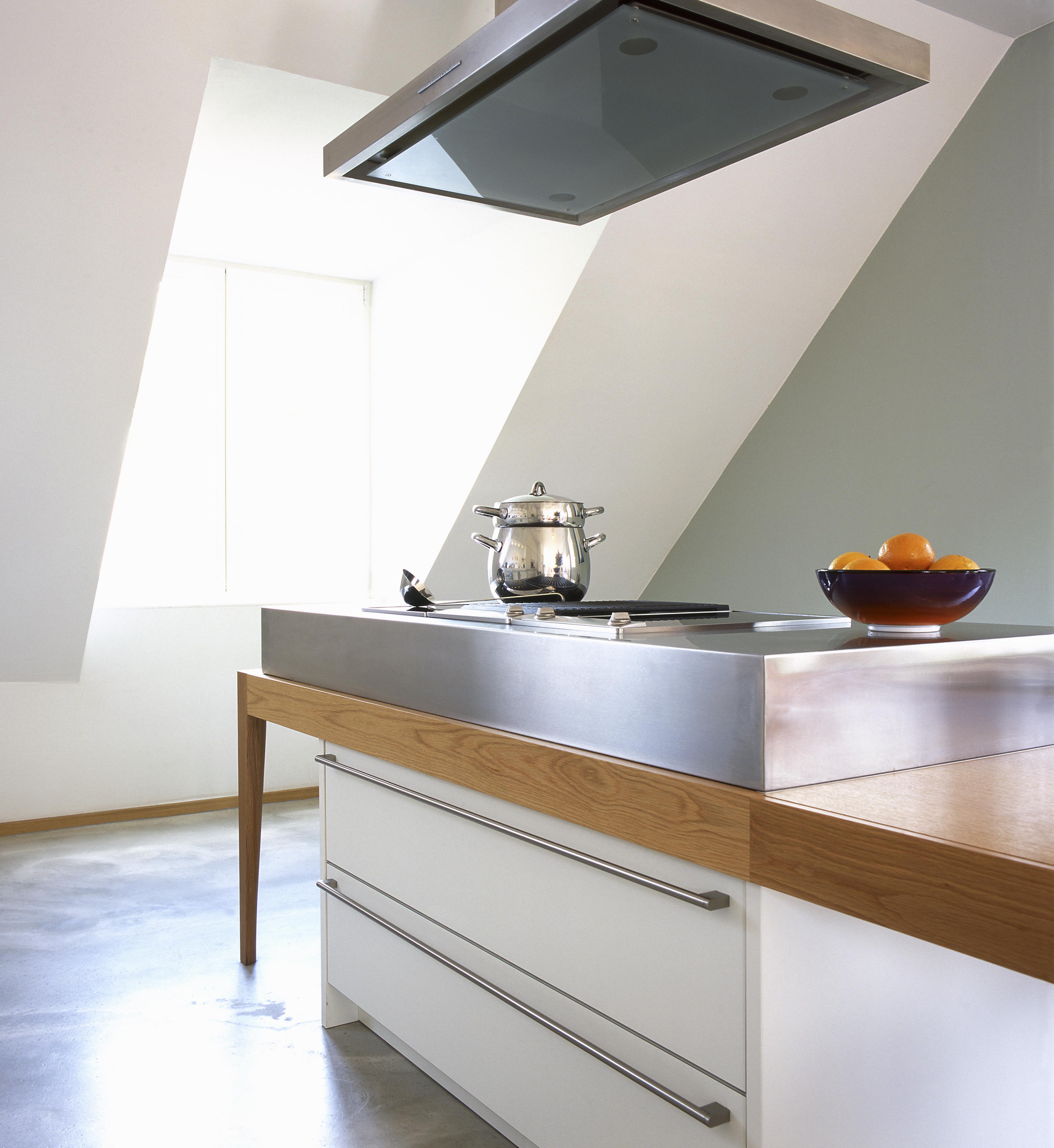 Küche in Wohnraum
