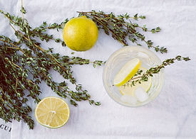 Canva - Photo of Lime Fruits and Thyme.j