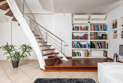 escalier sur mesure en bois