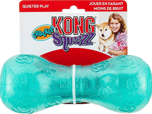 KONG Squeezz Crackle Dumbbell (Large)