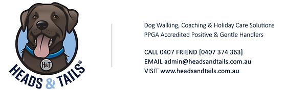 HEADS & TAILS PET CARE DOG WALKING MELBOURNE