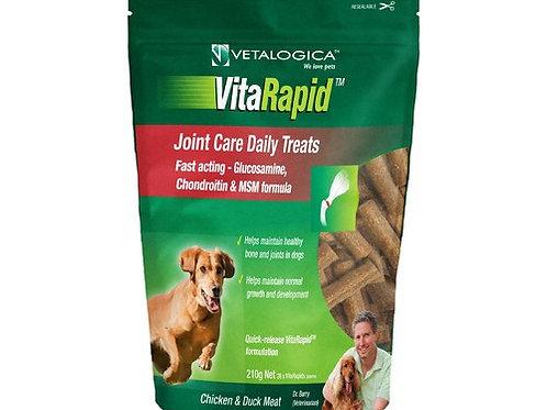 VETALOGICA Vitarapid Joint and Arthritis Daily Treats 210g