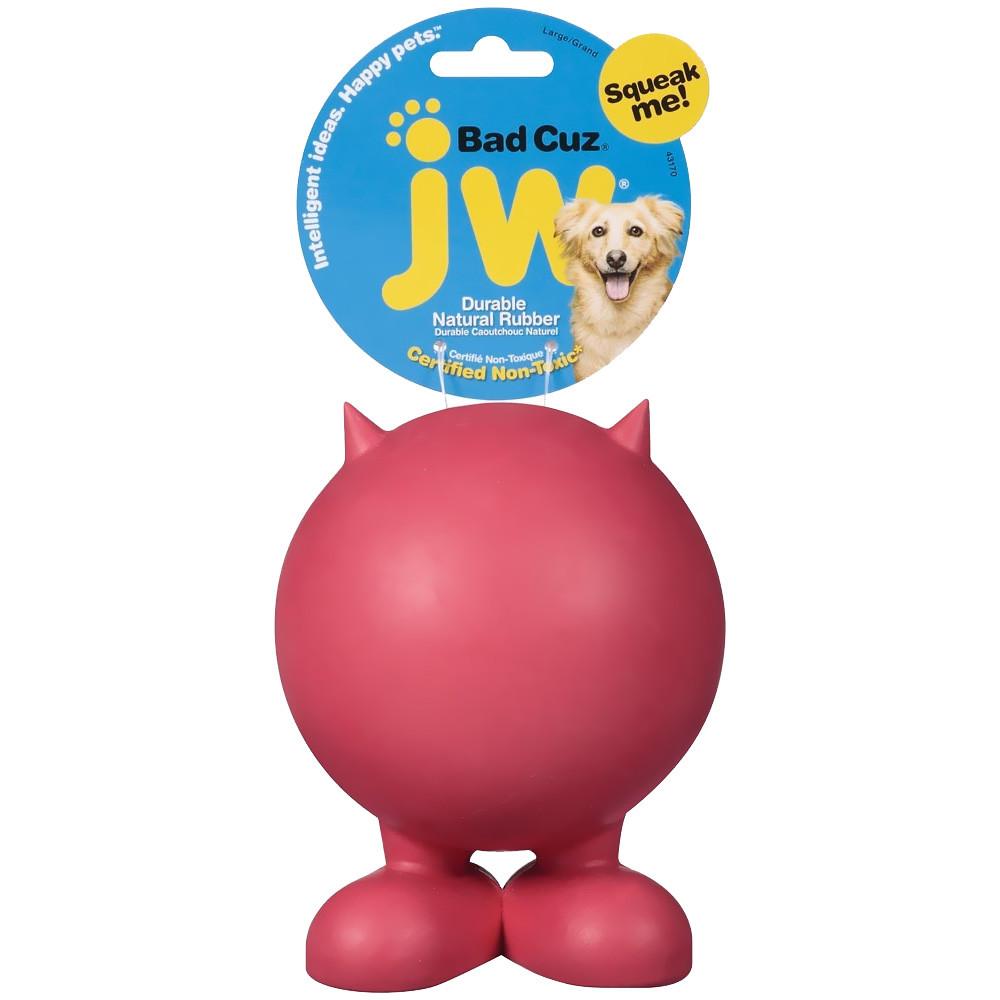 Squeaky dog toys favourite JW Pet Cuz ball