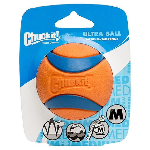 CHUCKIT Ultra Ball Medium (1 Pack)