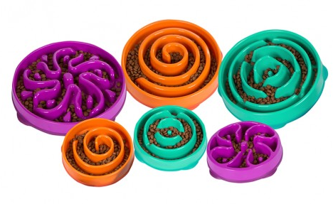 Outward Hound Puzzle Dog Bowls
