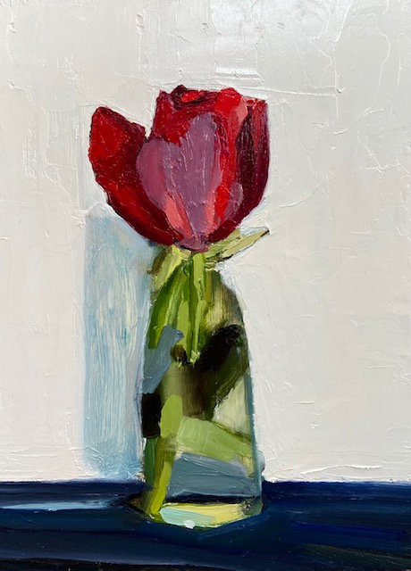 The Red Rose SOLD