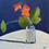 Thumbnail: December 9-Nasturtium on Navy