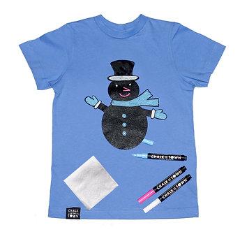 Snowman Holiday T-Shirt