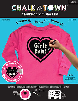 Sale Long Sleeve Chalkboard T-Shirt
