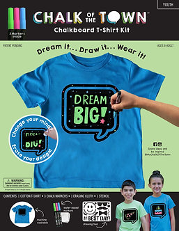 Blue Chalkboard T-Shirt Package