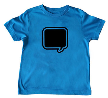Chalkboard T-shirt for Adults