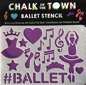 Ballet Stencil