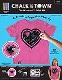 Pink Heart Chalkboard T-Shirt