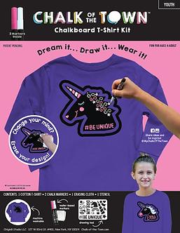 Purple Unicorn Long Sleeve Shirt