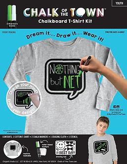 Long Sleeve Chalkboard T-Shirt