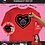 Long Sleeve Red Heart T-Shirt