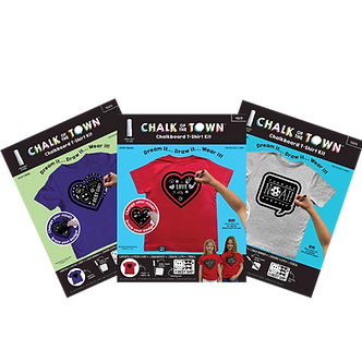 Short Sleeve Chalkboard T-Shirt Kit