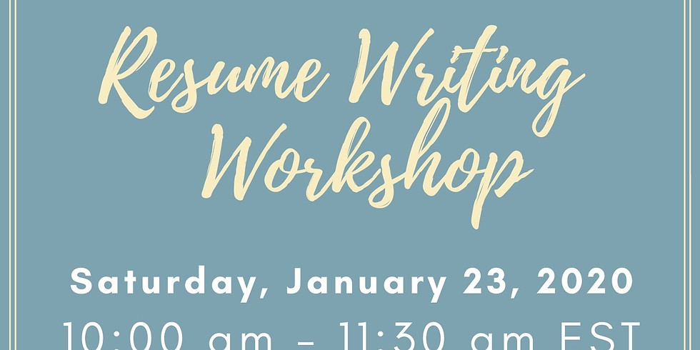 Resume Writing & Cover Letter Writing Workshop