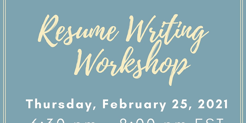 Resume Writing & Cover Letter Writing Workshop   (1)