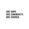 Copy of one hope. one life. one church..