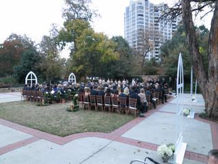 Outdoor Wedding Arlington Hall
