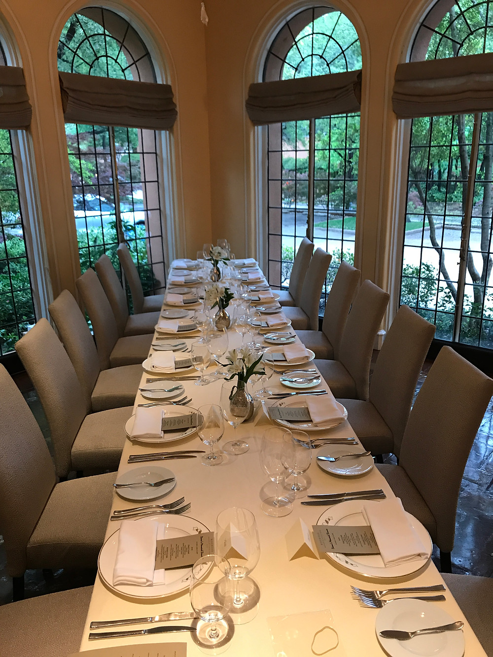 Mansion on Turtle Creek dinner