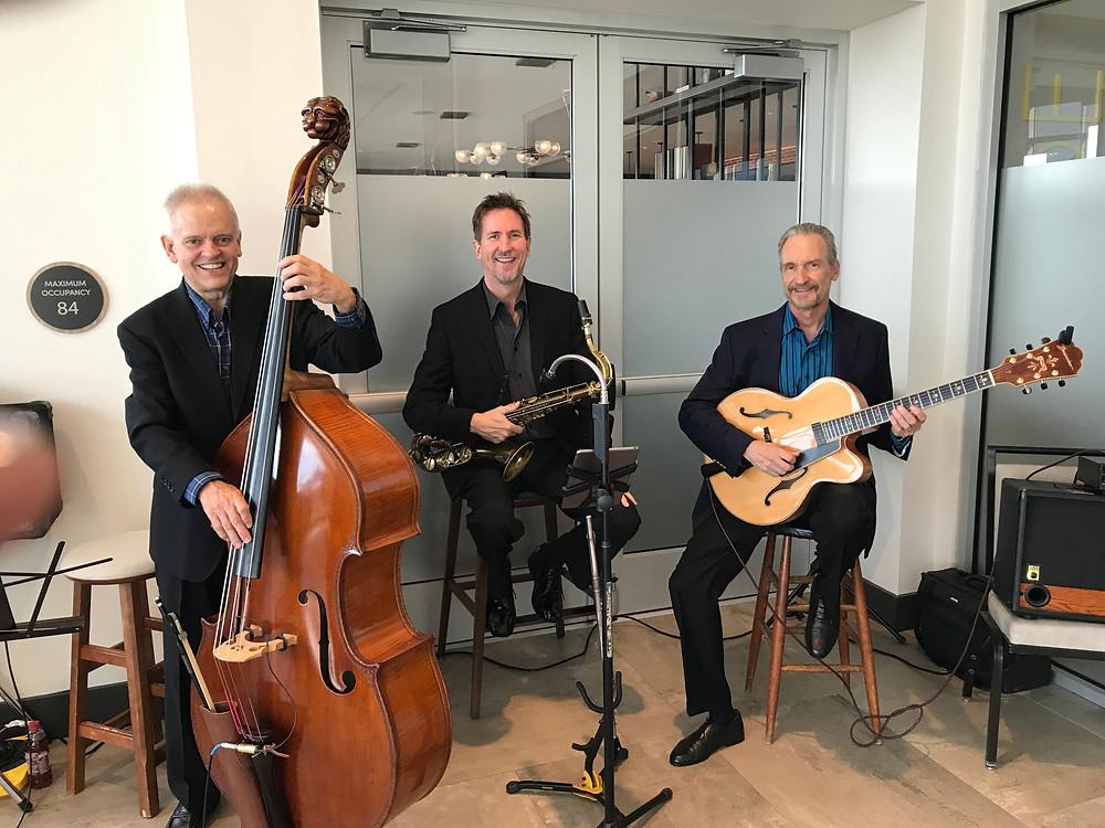 Jazz trio for rehearsal dinner