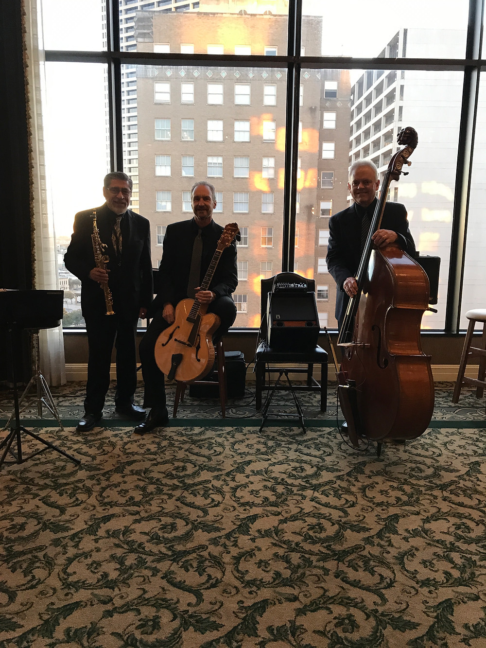 Jazz trio for Ft. Worth dinner