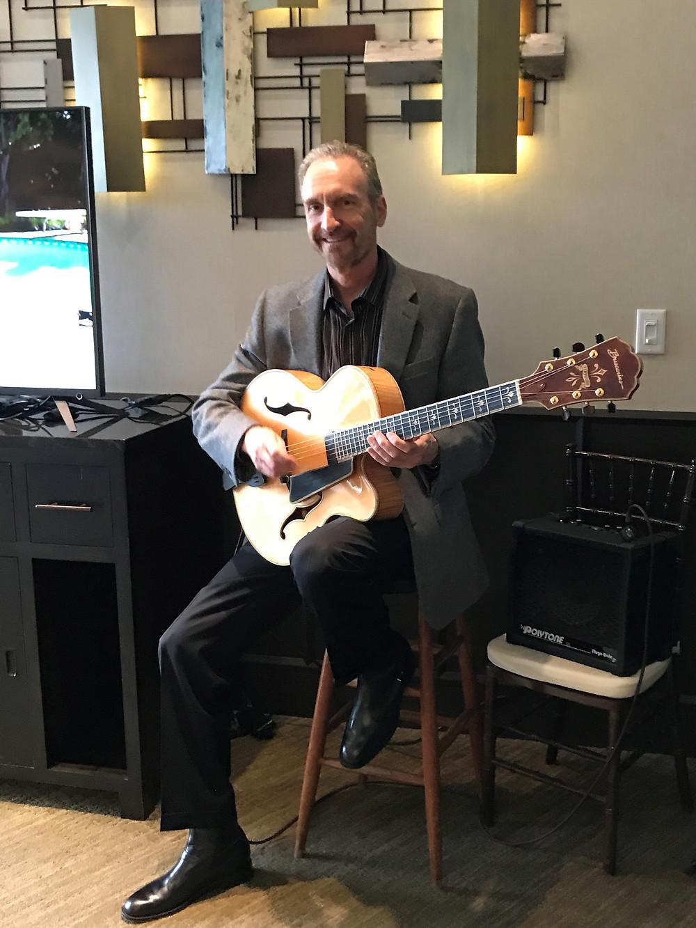 guitar for rehearsal dinner